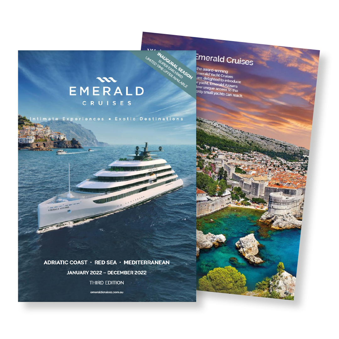 Emerald Cruises Third Edition Brochure