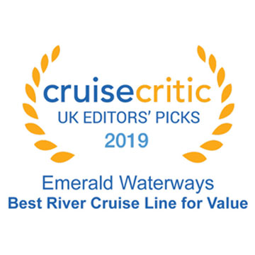 Cruise Critic 2019 Award - Best River Cruise Line for Value